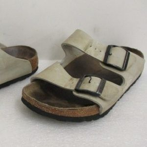 3a52b292f07 Birkenstock Arizona Tan Two Straps Women s 7